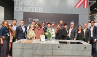 The Austrian Pavilion with the wohle crew of Austrian exhibitors at ICFF 2020 - we had a blast!